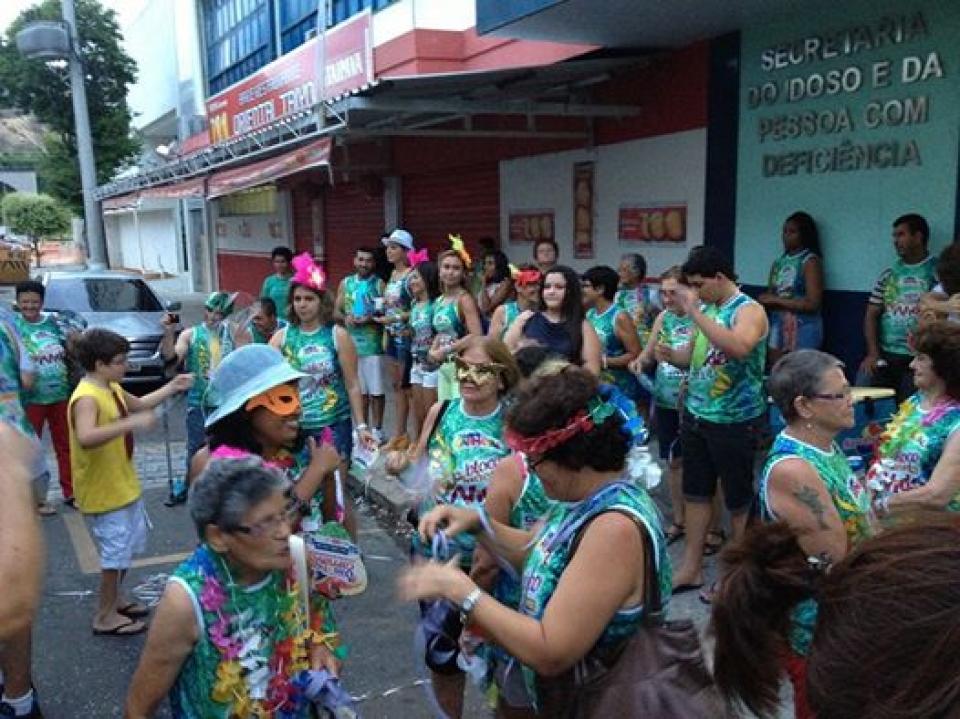 Inclusão éisso aí! Bloco do Planeta Vida no Carnaval 2014.